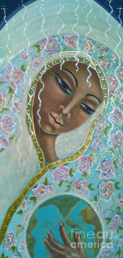 Visionary Art Painting - Ma -first Sound In The Universe by Maya Telford