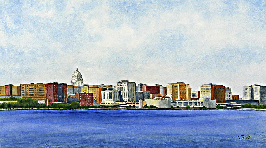 Madison Painting  - Madison Fine Art Print