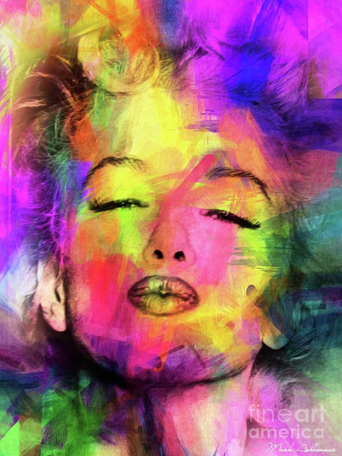 Marilyn Monroe Digital Art