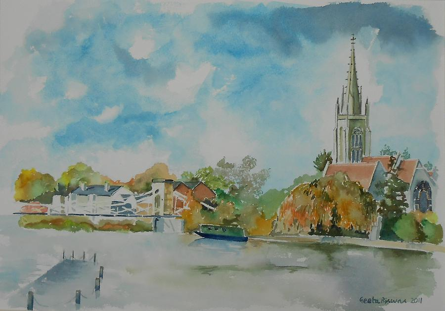 Marlow On Thames Painting