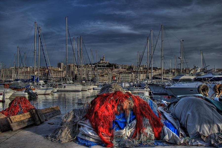 Marseille Photograph - Marseille by Karim SAARI