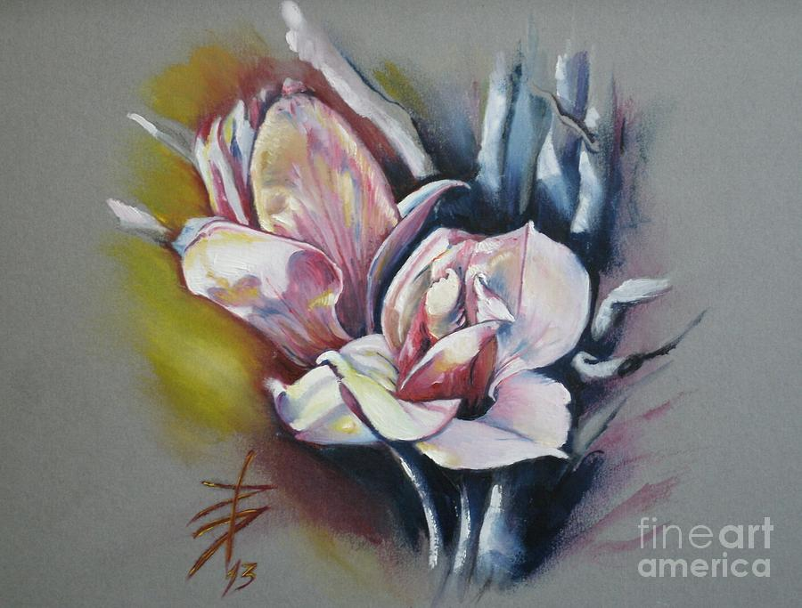 Floral Painting - May Beauty Be With You by Alessandra Andrisani
