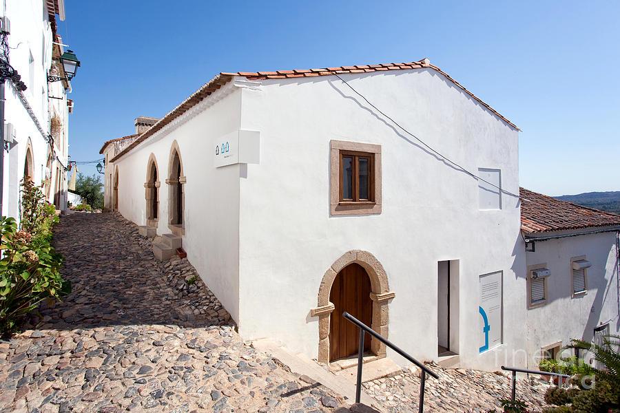Medieval Photograph - Medieval Sephardi Synagogue by Jose Elias - Sofia Pereira