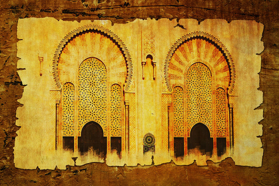 Medina Of Faz Painting