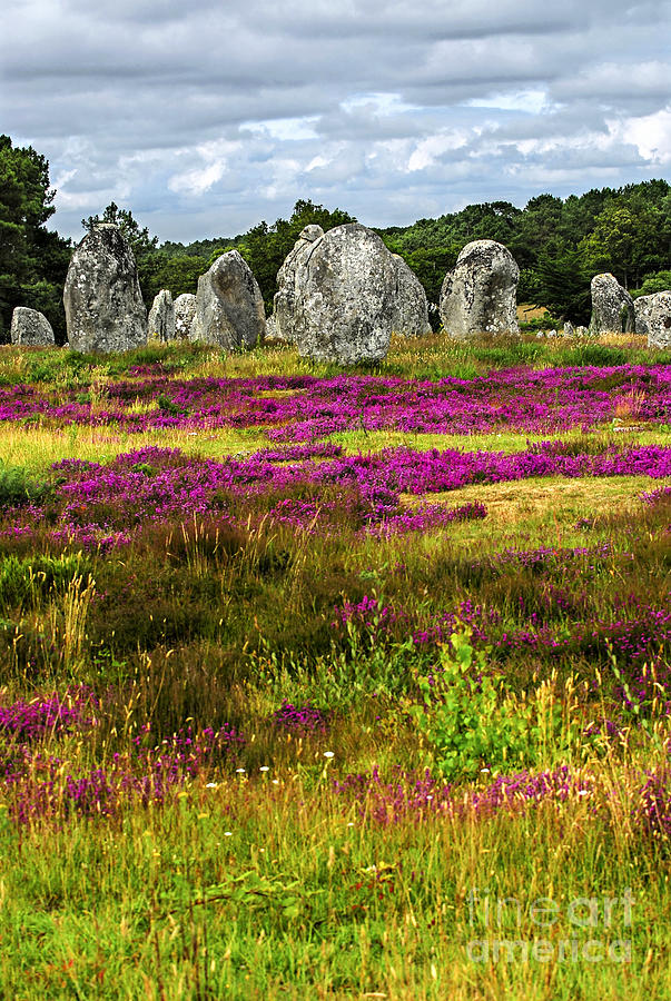 Megalithic Monuments In Brittany Photograph