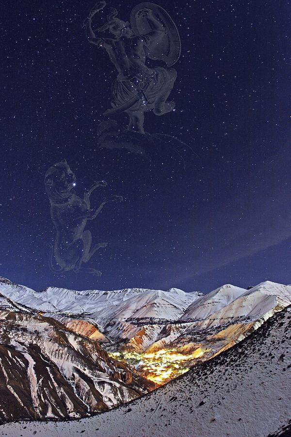 Milky Way Over The Alborz Mountains, Photograph