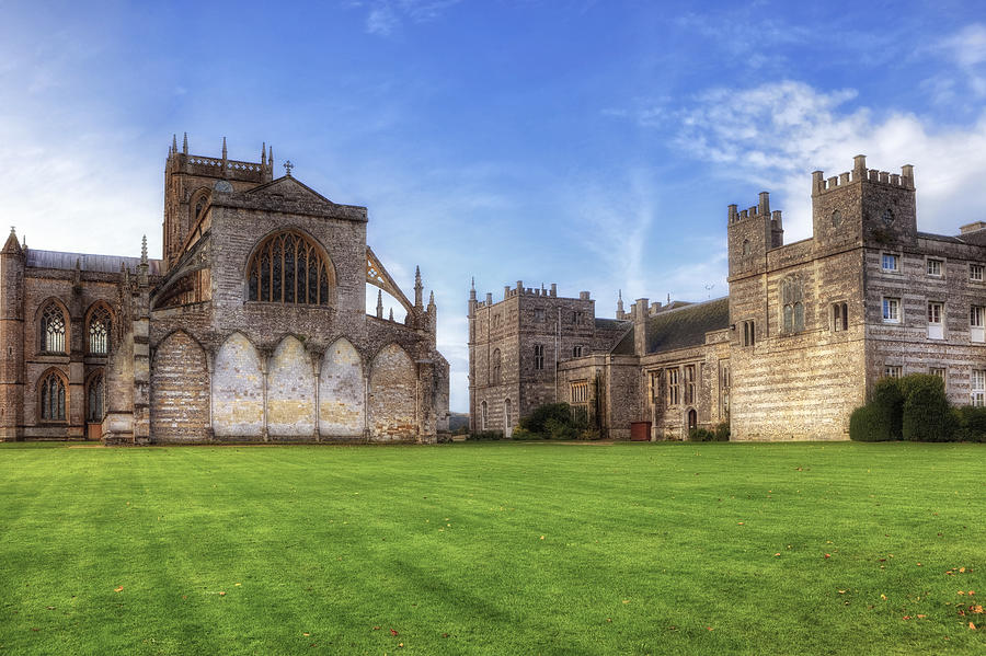 Milton Abbey Photograph  - Milton Abbey Fine Art Print