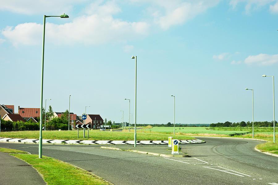 Modern Road Photograph