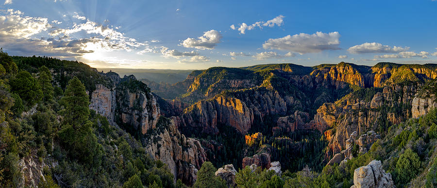 Morning Magic Over The West Fork Of Oak Creek Photograph