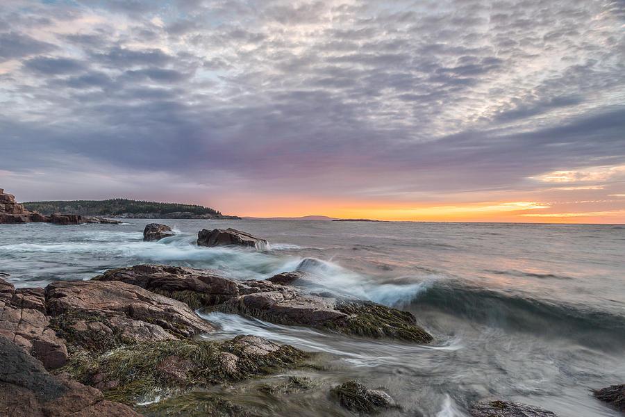 Acadia National Park Photograph - Morning Splash by Jon Glaser