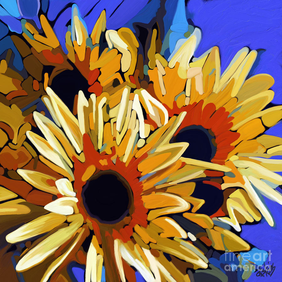 Morning Sunshine Painting  - Morning Sunshine Fine Art Print