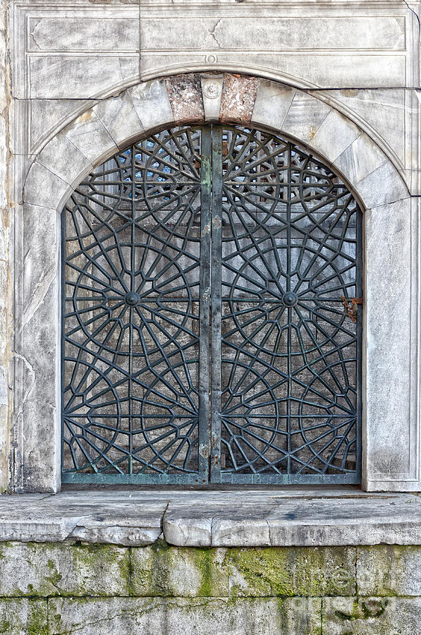 Mosque Photograph - Mosque Window by Antony McAulay