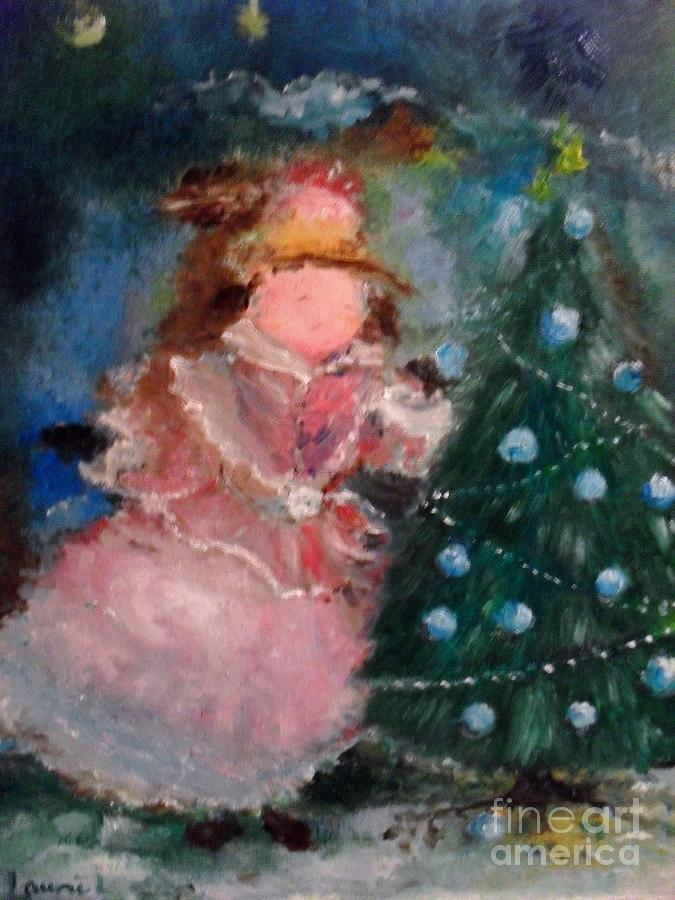 Mother Christmas Painting