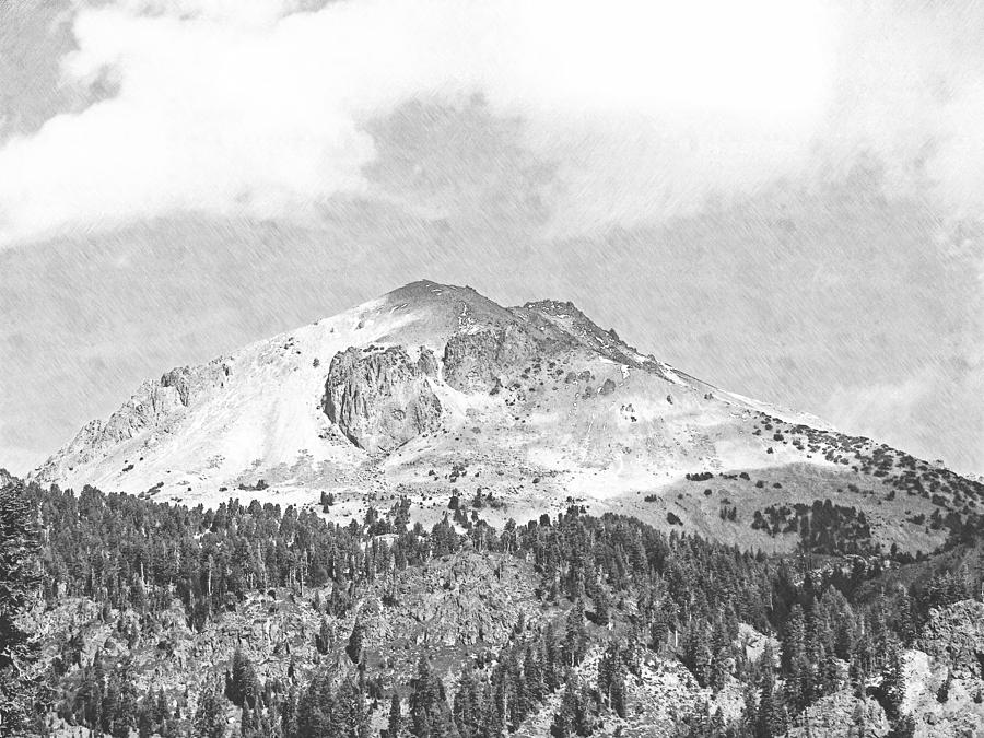 Mount Lassen Photograph