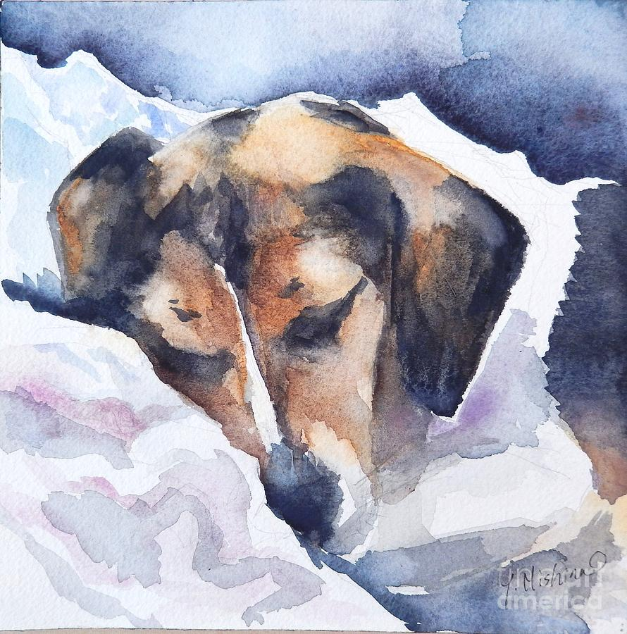 My Dog Painting
