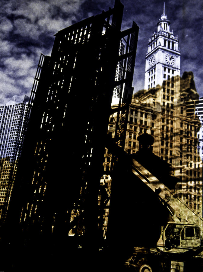 My Two Worlds Spires Photograph