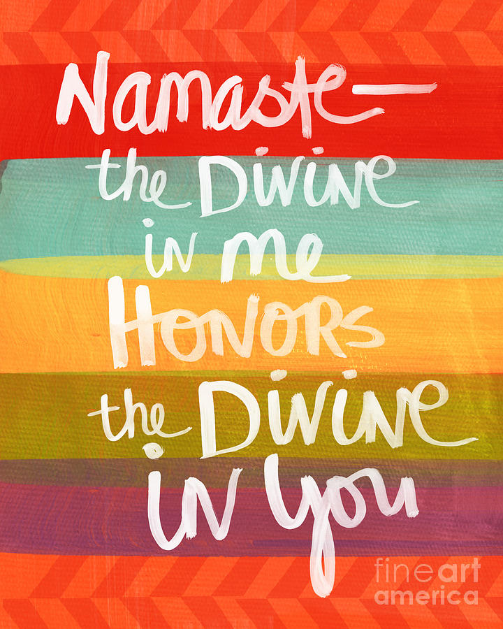 Namaste is a painting by Linda Woods which was uploaded on January ...