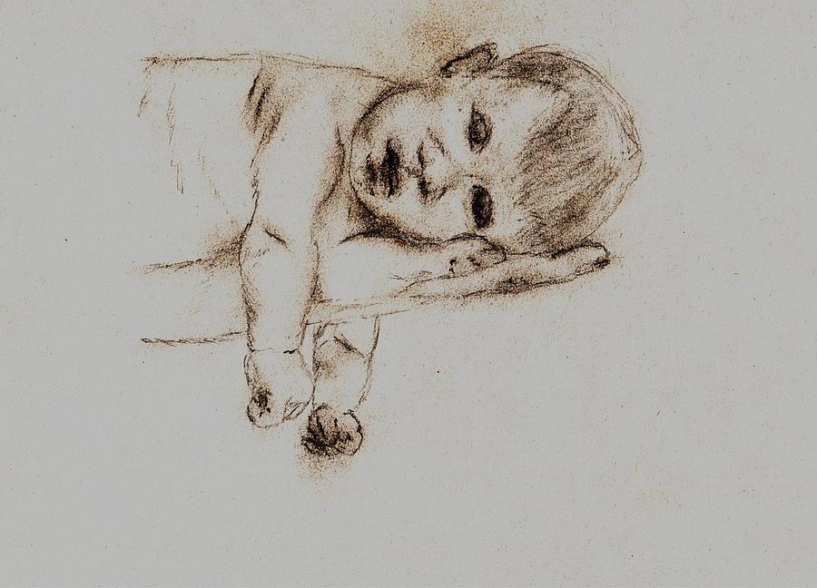Newborn Bliss Drawing