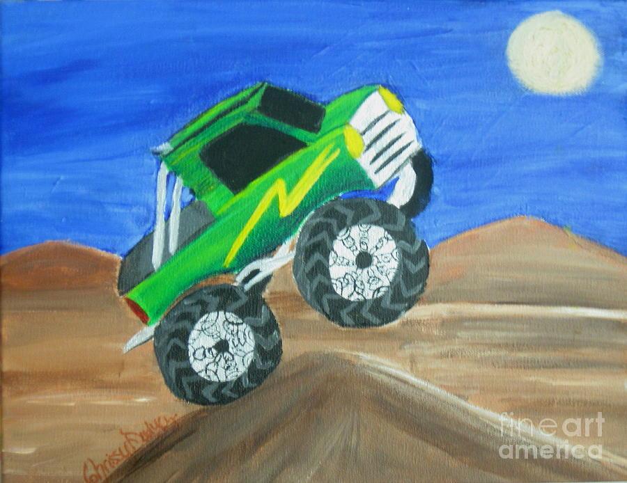 Night Ride Painting