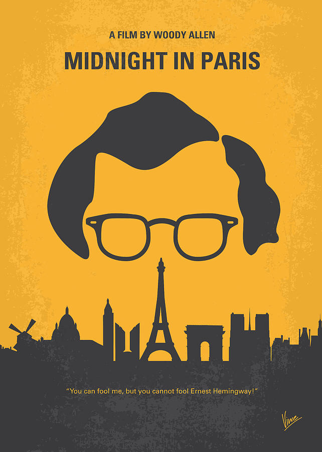 No146 My Manhattan Minimal Movie Poster Digital Art