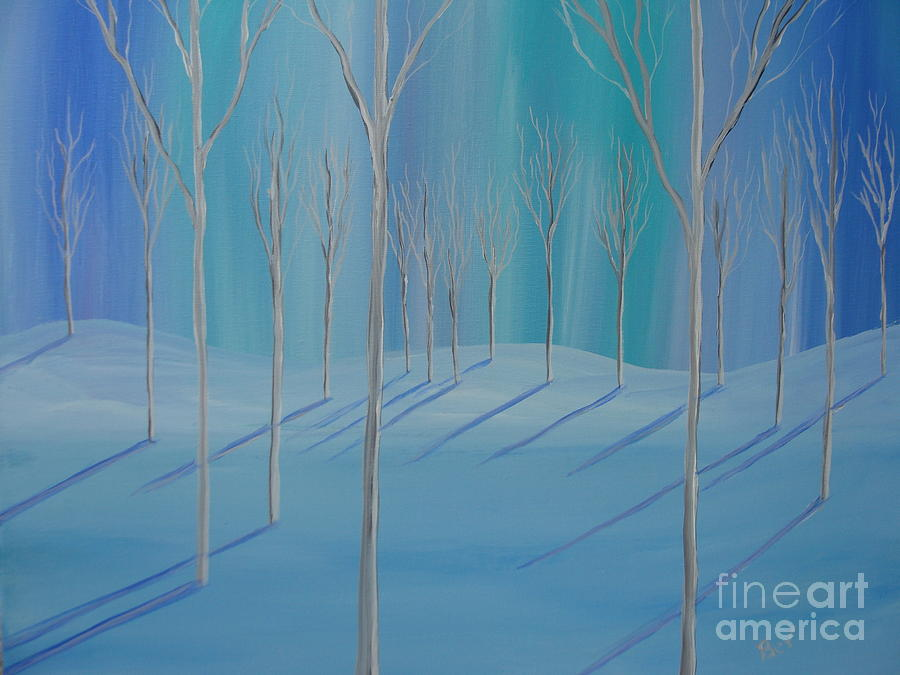 Northern Lights Painting  - Northern Lights Fine Art Print