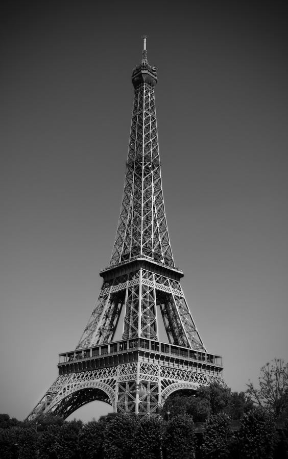 Not A Cloud In Paris Photograph