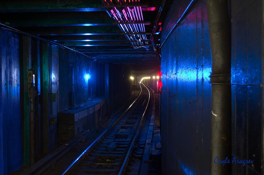 Underground Digital Art - Nyc Underground Colors by Coqle Aragrev