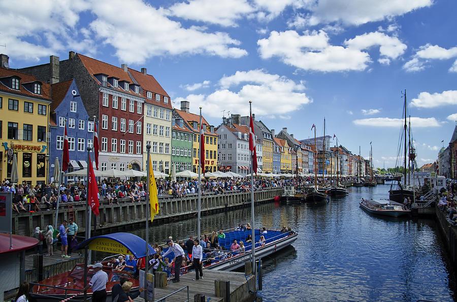 Nyhavn - Copenhagen Denmark Photograph