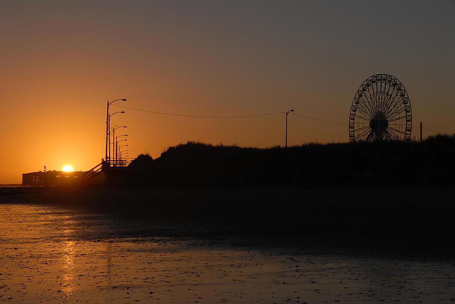 Ocean City Sunset Photograph