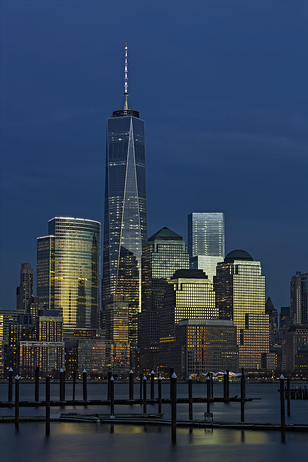 One World Trade Center At Twilight Photograph
