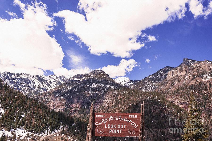 Ouray Colorado Switzerland Of America Photograph