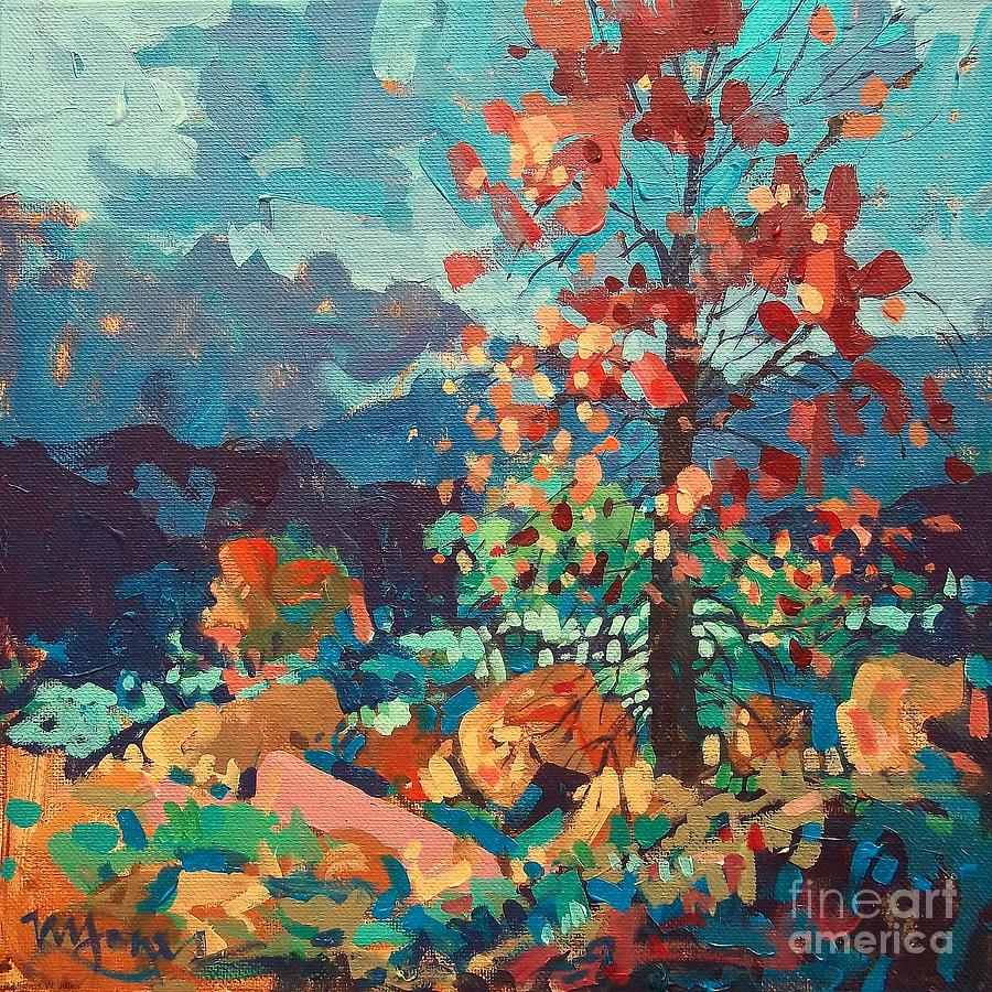 Ozark Autumn Painting