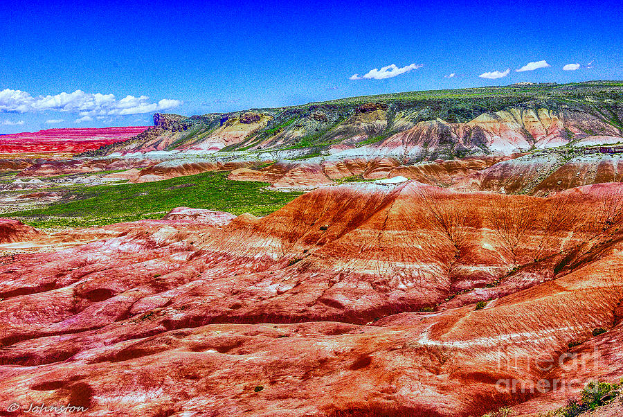 Painted Desert National Park Panorama Photograph