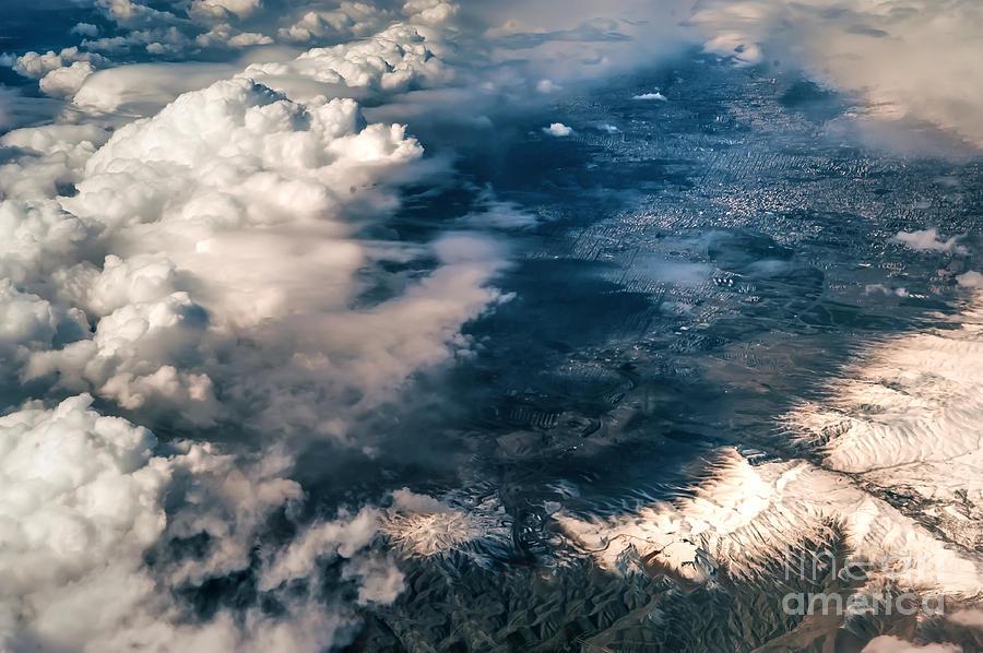 Painted Earth II Photograph
