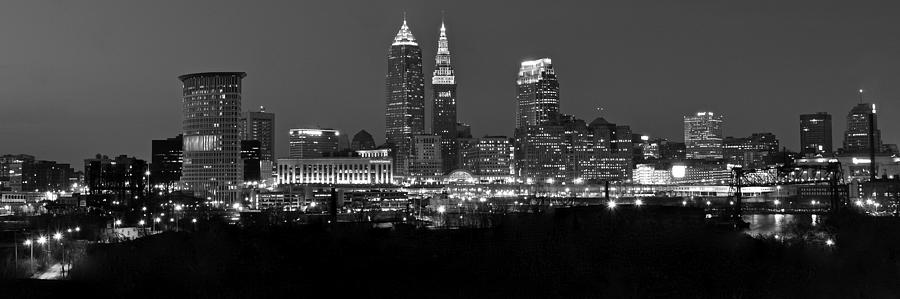 Panoramic Cleveland Photograph
