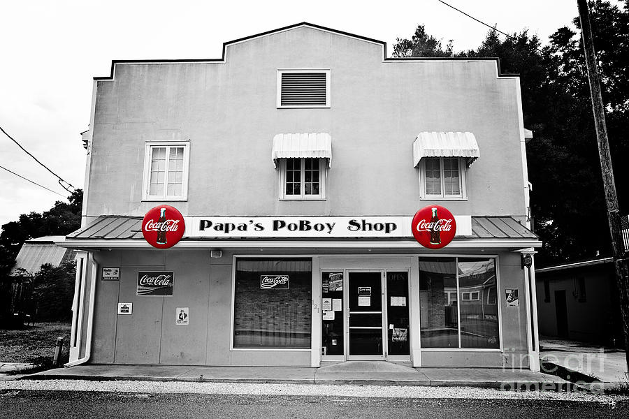 Papas Poboys Photograph  - Papas Poboys Fine Art Print