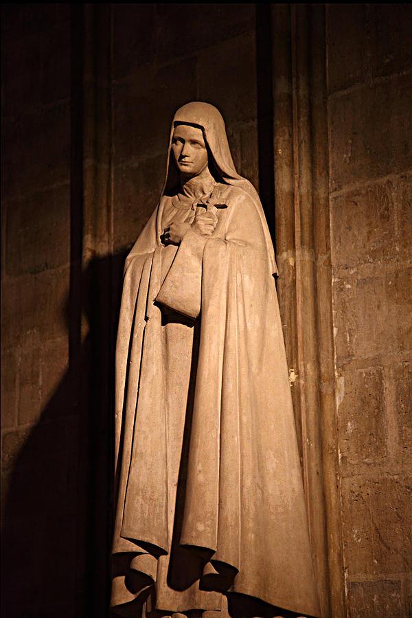Paris France - Notre Dame De Paris - 01139 Photograph