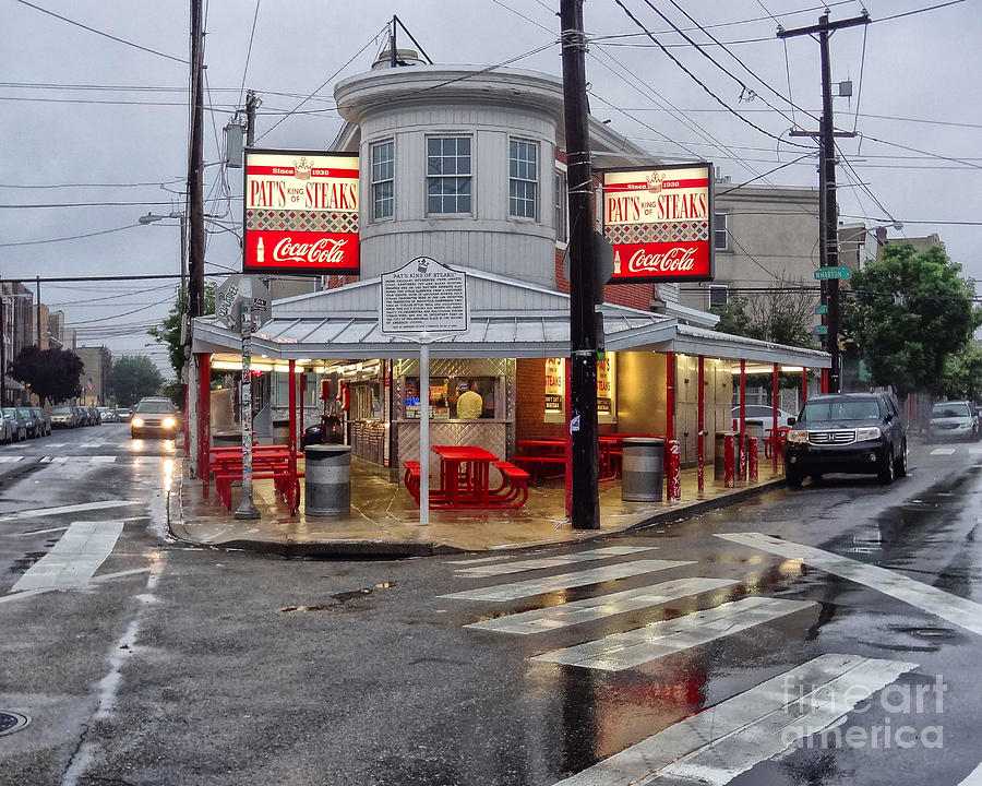 Pats Steaks Photograph  - Pats Steaks Fine Art Print