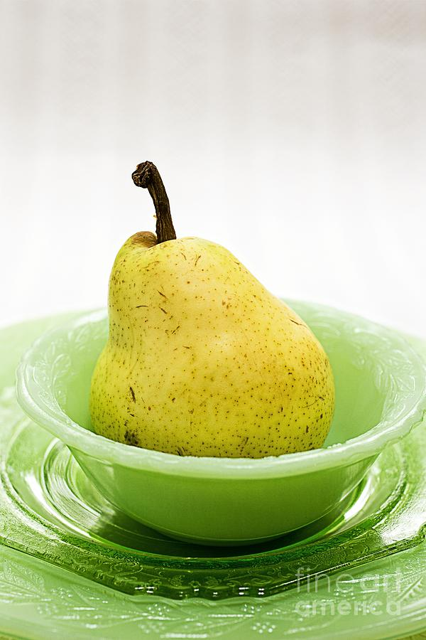 Pear Still Life Photograph  - Pear Still Life Fine Art Print