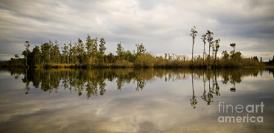 Brunner Photograph - Perfect Lake by Tim Hester