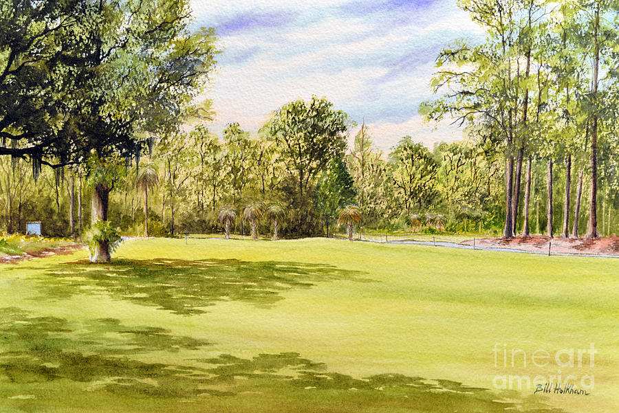 Perry Golf Course Florida Painting
