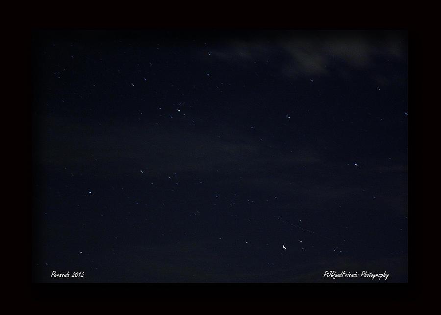 Perseid Meteor Photograph