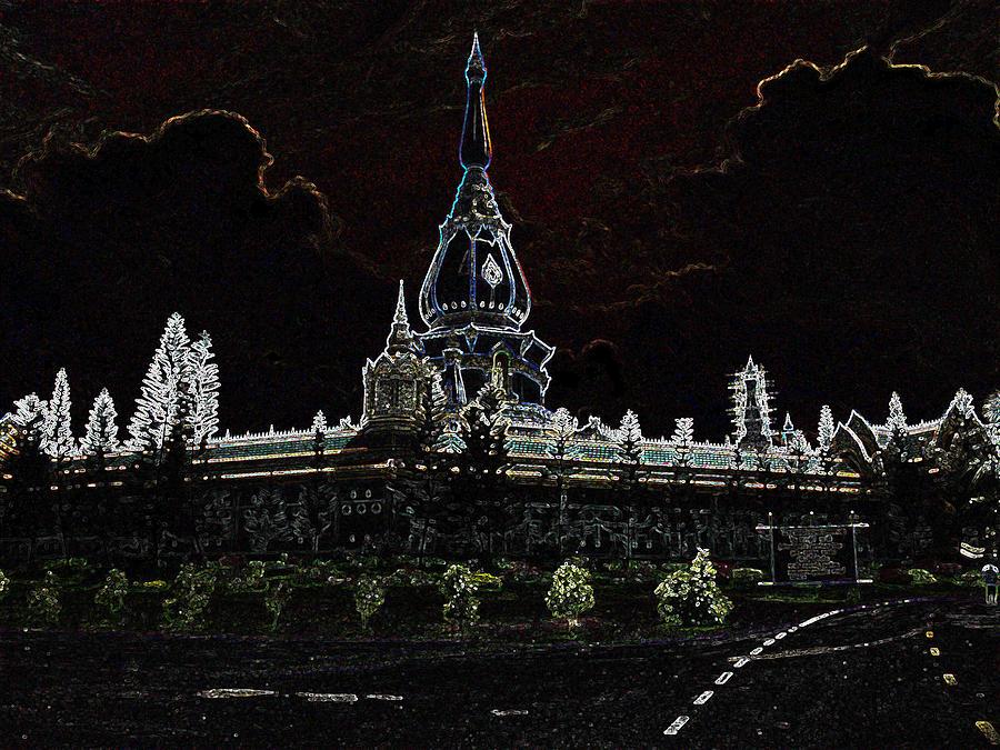 Pha Nam Yoi  Temple Sculpture
