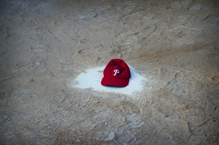 Phillies Home Plate Photograph