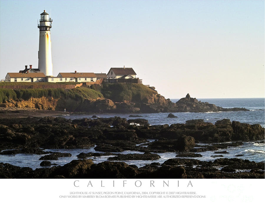 Pigeon Point Lighthouse Photograph