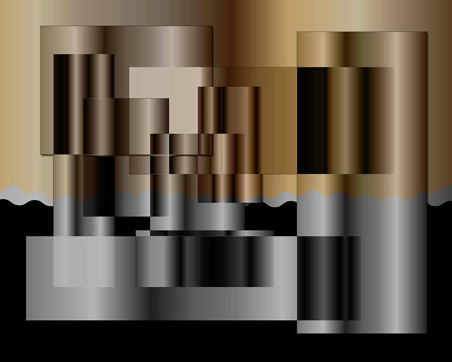 Pipes Digital Art