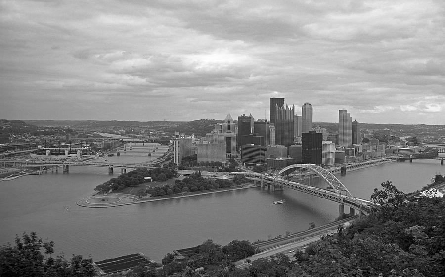 Allegheny Photograph - Pittsburgh - View Of The Three Rivers by Frank Romeo