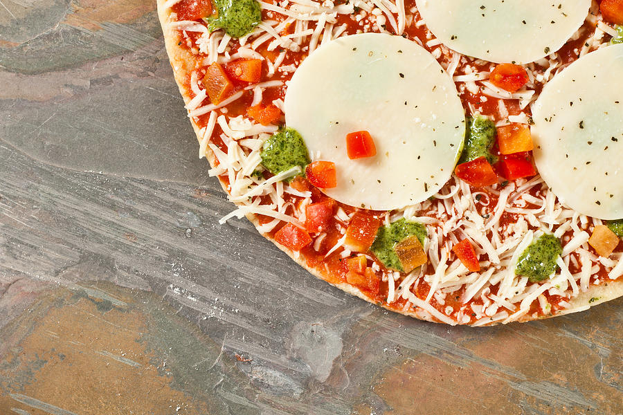 Background Photograph - Pizza by Tom Gowanlock