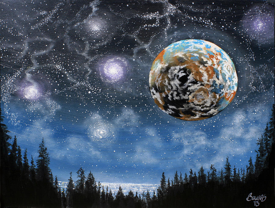 Planet X Niburu Painting  - Planet X Niburu Fine Art Print
