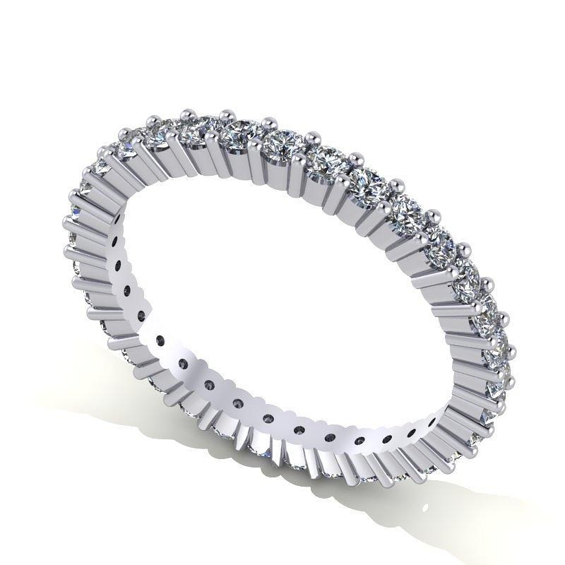 Platinum Diamond Eternity Band Jewelry